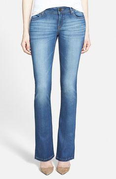 DL1961+'Cindy'+Bootcut+Jeans+(Prinia)+(Petite)+available+at+#Nordstrom