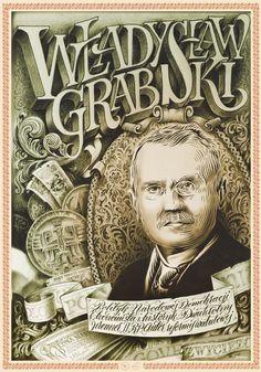 """""""Władysław Grabski"""" by Adam Romuald Kłodecki - from Goverdose artpack #05 / theme: """"VViners"""""""