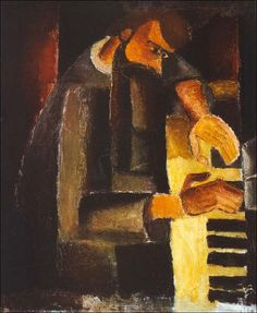 ♪ The Musical Arts ♪ music musician paintings - Frits Van den Berghe