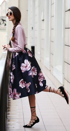 What Shoes To Wear With Midi Skirts | The Shoe Blog on BuyFantasticShoes.com