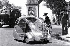 Concept Car of the Week: L'Oeuf Electrique (1942) - Car Design News