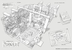 Adventure Game Room Designs, FZD Term 2