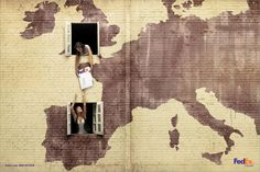 FedEx: London-Spain | Ads of the World™