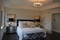 Cozy and luxurious Master Bedroom in Oakville, ON ! Visit our website to see more amazing photos! http://crimsonroseliving.com
