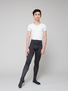 Boys' Footed Ballet Tights | boysdancetoo. - the dance store for men