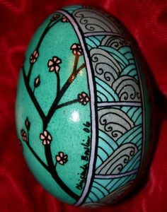 Japanese Art Easter Egg