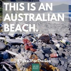 Take Three For The Sea And Keep Our Beaches Clean