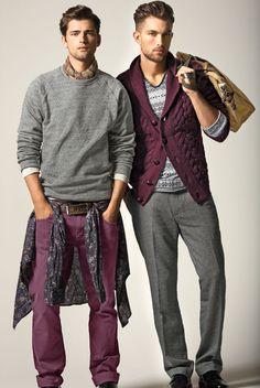 Men's casual style | Sean O'Pry & Tobias Sorensen