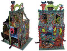 Pop-up Spooky House (76 Pumpkin Lane) - Chris Mould