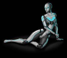 Robot Model Girl