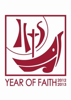 The Year of Faith just began!  This site explains the official logo for the Year of Faith and offers other information.