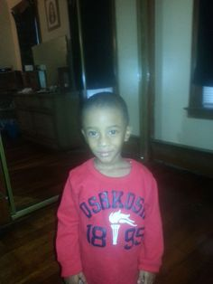 Our second RED photo to share today is Hartford Case Manager Tynisa Ortiz's 3-year-old son.