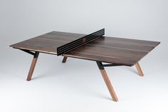 Ping Pong Table Made From Reclaimed Hardwood Floors Diy