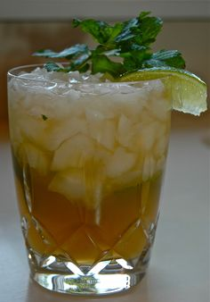 My love of the Mint Julep and Moscow Mule combine perfectly in this refreshing Southern cocktail created by my brother, Charlie. No problem beating the heat with this drink in your hand! Juleped K...