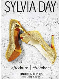 Afterburn and After Shock written by Sylvia Day: Red hot reads in partnership with Mills and Boon