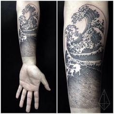 Hokusai's The Wave recover deleted photos android 2020 Wave Tattoo Sleeve, Ocean Sleeve Tattoos, Nature Tattoo Sleeve, Ocean Tattoos, Sleeve Tattoos For Women, Tattoo Sleeve Designs, Forearm Tattoos, Tattoos For Guys, Cool Tattoos
