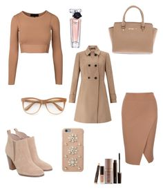"""november style"" by insomnia96 on Polyvore featuring Michael Kors, Wildfox, MICHAEL Michael Kors, Miss Selfridge, Laura Mercier and Lancôme"