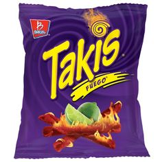 Takis Fuego Box of 46 bags oz. each) (Hot Chili Pepper & lime flavors ) for sale online Hogwarts, Planters Peanuts, Barbie, Hottest Chili Pepper, Snack Recipes, Snacks, Corn Chips, Great Birthday Gifts, 60th Birthday