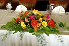 Bridal Table Arrangement | Flickr - Photo Sharing!