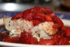 Stuffed Chicken With Fresh Strawberries & Strawberry Balsamic Recipe