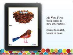 Al igual que los libros de Eric Carle, esta app ofrece distintas propuestas que tienen que ver con el aprendizaje de conceptos. Asociar colores con objetos u animales o hacer parejas, son algunos de los divertidos juegos que se presentan organizados en 3 niveles de dificultad, según la edad.