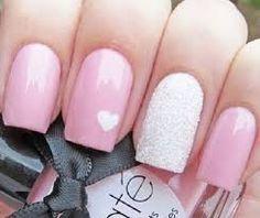 Bildergebnis für nail art glitter rosa