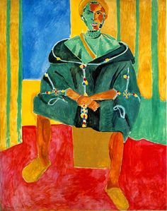FRENCH PAINTERS: Henri MATISSE Seated Riffian 1913
