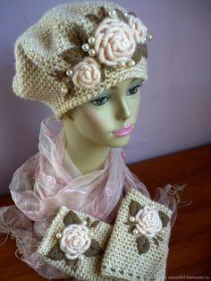 Crochet Adult Hat, Crochet Baby Clothes, Knit Crochet, Crochet Hats, Baby Knitting Patterns, Crochet Patterns, Crochet Garland, Knitwear Fashion, Crochet Flowers