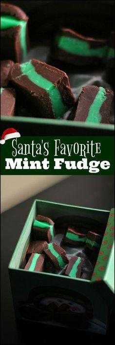Santa's Favorite Mind Fudge | Aunt Bee's Recipes