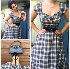 My Week In Outfits! - Miss Victory Violet Pin Up Outfits, Retro Outfits, Vintage Outfits, Cute Outfits, Retro Vintage Dresses, 50s Dresses, Cute Dresses, Casual Dresses, Fashion Dresses