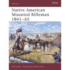 Native American Mounted Rifleman 1861-65 #nativeamericanjewelry