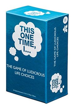 THIS ONE TIME, I..: THE GAME OF LUDICROUS LIFE CHOICES Th... https://smile.amazon.com/dp/B0173HWRTE/ref=cm_sw_r_pi_dp_x_2pu.xb78PVWMR