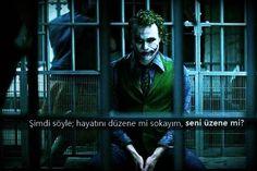 Laf Sokucu Sözler Joker Tumblr, Joker Heath, Whatsapp Wallpaper, Joker Wallpapers, Joker Tatto, Joker Cosplay, Joker Quotes, Joker And Harley Quinn, R Memes