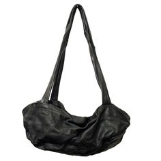 AWAY - www.mymist.it - black leather bag