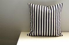 Envelope back pillow tutorial