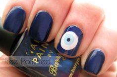 evil eye nail