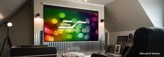 Get an authentic #hometheater experience with our #ManualProjectionScreens. Explore our impressive selection at http://bit.ly/2hozVsk