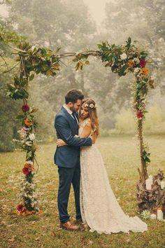 ☮️ American Hippie Bohéme Boho Style ☮️ Wedding