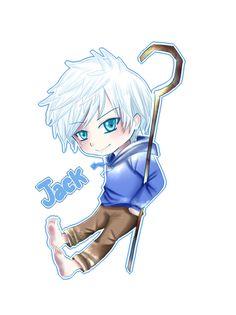 Chibi Jack Frost by *Azallie on deviantART