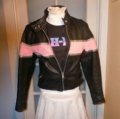 Love Leathers moto jacket Super nice EUC M Awesome like new leather jacket, zip out quilted lining, inner gun pocket. Reflective silver, zip sleeves, detailing. You won't find a nicer jacket for twice the price! EUC Love Leathers Jackets & Coats