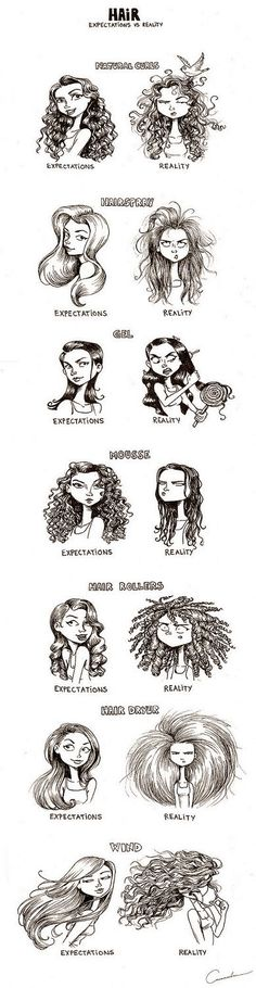 Hair Styles. Interes