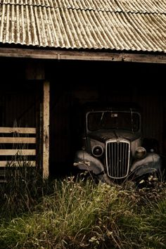 The Old Car in the Barn Photographic Print by Susannah Tucker at AllPosters.com