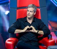 Victor faz coração fofo durante as Audições (Foto: Isabella Pinheiro / Gshow)