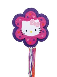 Hello Kitty Flower Pull Pinata *** Click image to review more details.Note:It is affiliate link to Amazon.