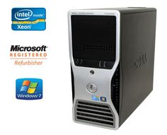 FAST Dell Precision Desktop PC Workstation 3.06GHz Turbo Hex Core CPU Windows 7 #Dell