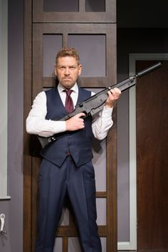 The Painkiller review – Kenneth Branagh and Rob Brydon star at the Garrick Theatre, London