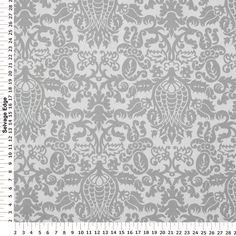 Drapery Fabric - Amsterdam Storm Gray and White Cotton Fabric @ Hancock Fabrics