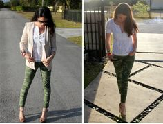 OOTD: How to Style Camo Pants