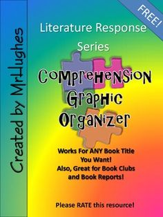 This handy little 2-page graphic organizer is just the thing you need to help your students stay focused during read-aloud. It also works great for book clubs, book reports, and independent contracts. The sky is the limit! Suggestions for use included!Skills practiced:-Connections-Visualizations-Responding to the Author-Vocabulary-Setting-Plot-Respond to feelings about the story -Provide feedback and recommendations after reading-And More!Please enjoy this FREE resource!Also, after you have had