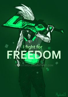 [Project Ekko] Freedon by Mystar21 on DeviantArt